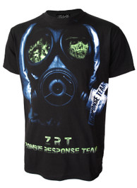 Zombie Face Mask T-Shirt