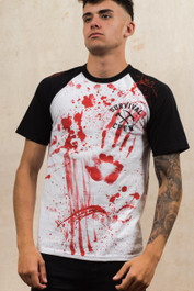 Zombie Killer 13 Baseball T-Shirt