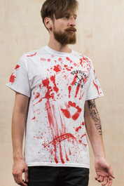 Zombie Killer 13 White T-Shirt