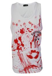 Zombie Killer 13 White Vest