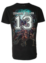 Zombie Killer BLUE Mens T-Shirt