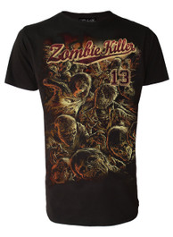 Zombie Killer RED Mens T-Shirt