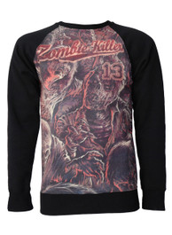 Zombie Killer Red Sweatshirt