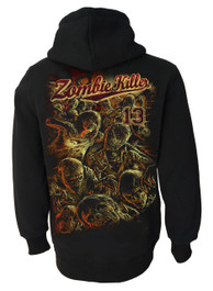 Zombie Killer RED Zip Hood