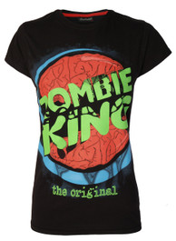 Zombie King Womens T Shirt