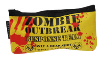 Zombie Response Yellow Pencil Case