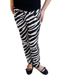 White Zebra Low Rise Skinny Jeans