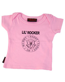Pink Lil Rocker Kids T Shirt