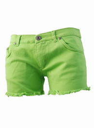 Lime Green Hot Pants