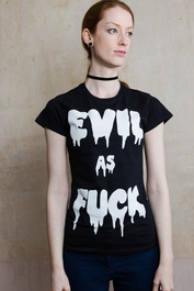Evil As F*** Womens T Shirt