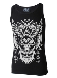 All Seeing Eye Beater Vest