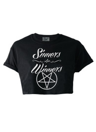 Sinners Are Winners Crop Top