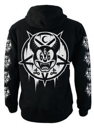 Mickey 666 Fleece Zip Hood