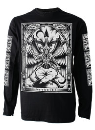 Baphomet Mens Long Sleeve T Shirt