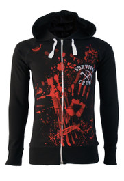 Zombie Killer 13 Cotton Zip Hood
