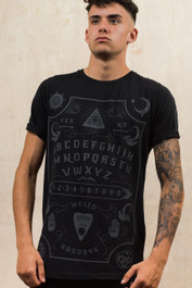 Grey Ouija Board Mens T Shirt