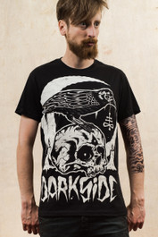 Skull Crow Mens T-Shirt