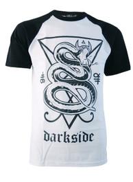 Snake Mens Baseball T-Shirt