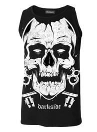 Skull Cotton Vest