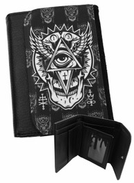 All Seeing Eye Mens Wallet
