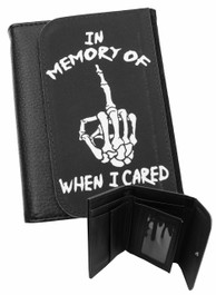 In Memory Of When I Cared Mens Wallet