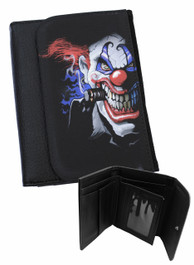 Evil Clown Mens Wallet