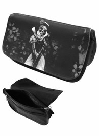 Snow White Skeleton Zip Up Make Up Bag/Pencil Case