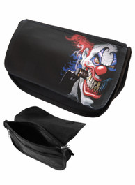 Evil Clown Zip Up Make Up Bag/Pencil Case