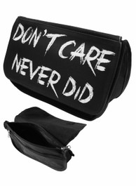 Dont Care Never Did Zip Up Make Up Bag/Pencil Case
