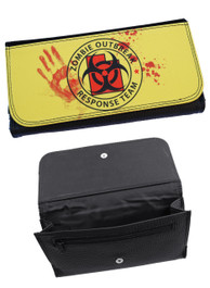 Zombie Outbreak Yellow Womens Purse