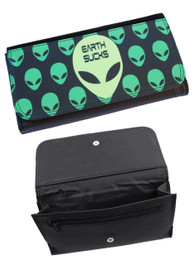 Alien Earth Sucks Womens Purse