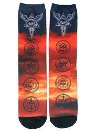 All Seeing Eye Socks