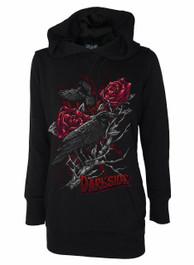 Raven Rose Womens Longline Hood