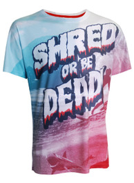 Shred Or Dead Mens T Shirt