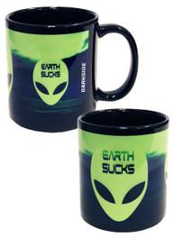 Alien Earth Sucks Mug