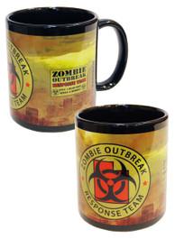 Zombie Response Yellow City Mug