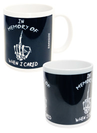 In Memory Of When I Cared Mug