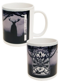 Baphomet Black and White Mug