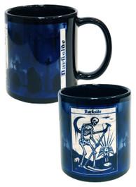 Death Tarot Graveyard Mug