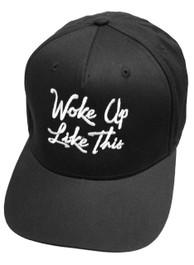 I Woke Up Like This Snapback Cap Black