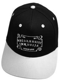 Ouija Board Grey and Black Snapback Cap