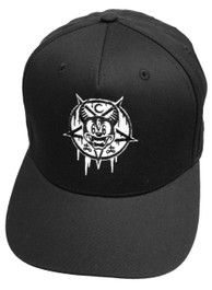 Mickey 666 Black Snapback Cap