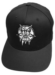 Mickey 666 Black Snapback Cap