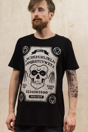 Ghoul Ouija Board Mens T Shirt