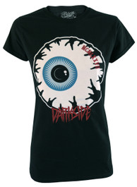 Eyeball Womens Embroidered T Shirt
