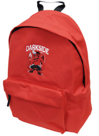 Devil Corps Red Embroidered Backpack