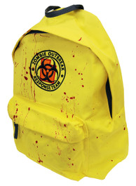 Zombie Response Blood Splatter Embroidered Backpack