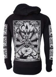 Baphomet Cotton Zip Hood