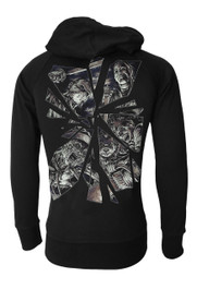 Horror Mirror Cotton Zip Hood