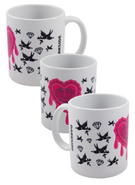 Pink  Seeing Eye Tattoo Mug